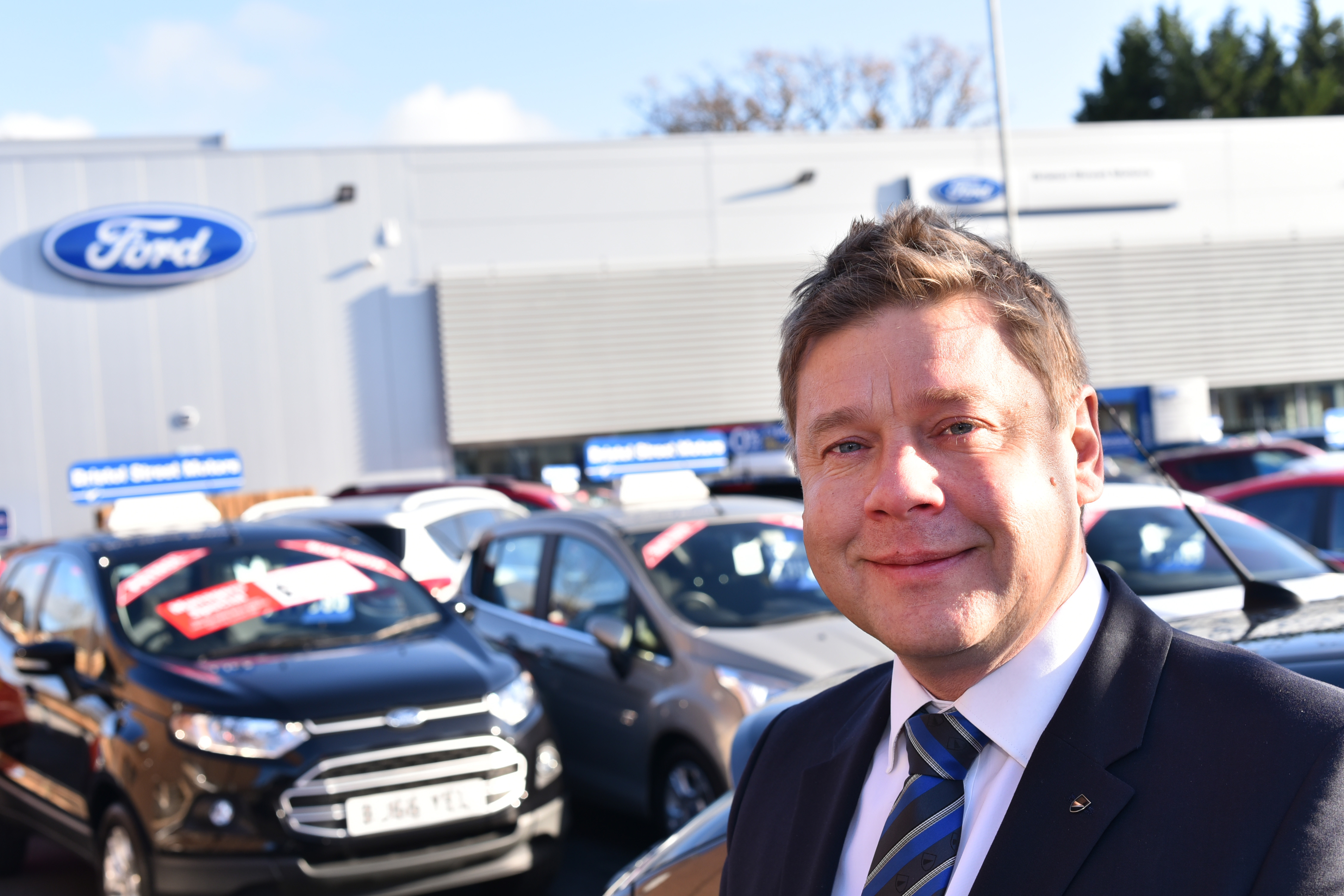 Shirley Ford unveils new £2m dealership