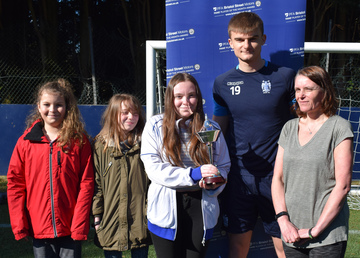 PFA and Bristol Street Motors help family meet football hero