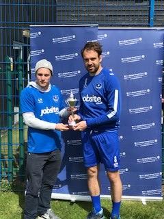 Portsmouth FC super fan meets team hero