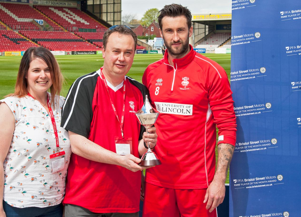 PFA and Bristol Street Motors help Lincoln City superfan