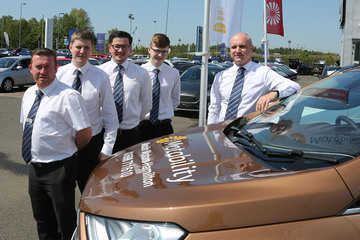 Macklin Motors Hamilton Ford praised for Motability