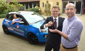 Bristol Street Motors sets wheels in motion for St Oswalds