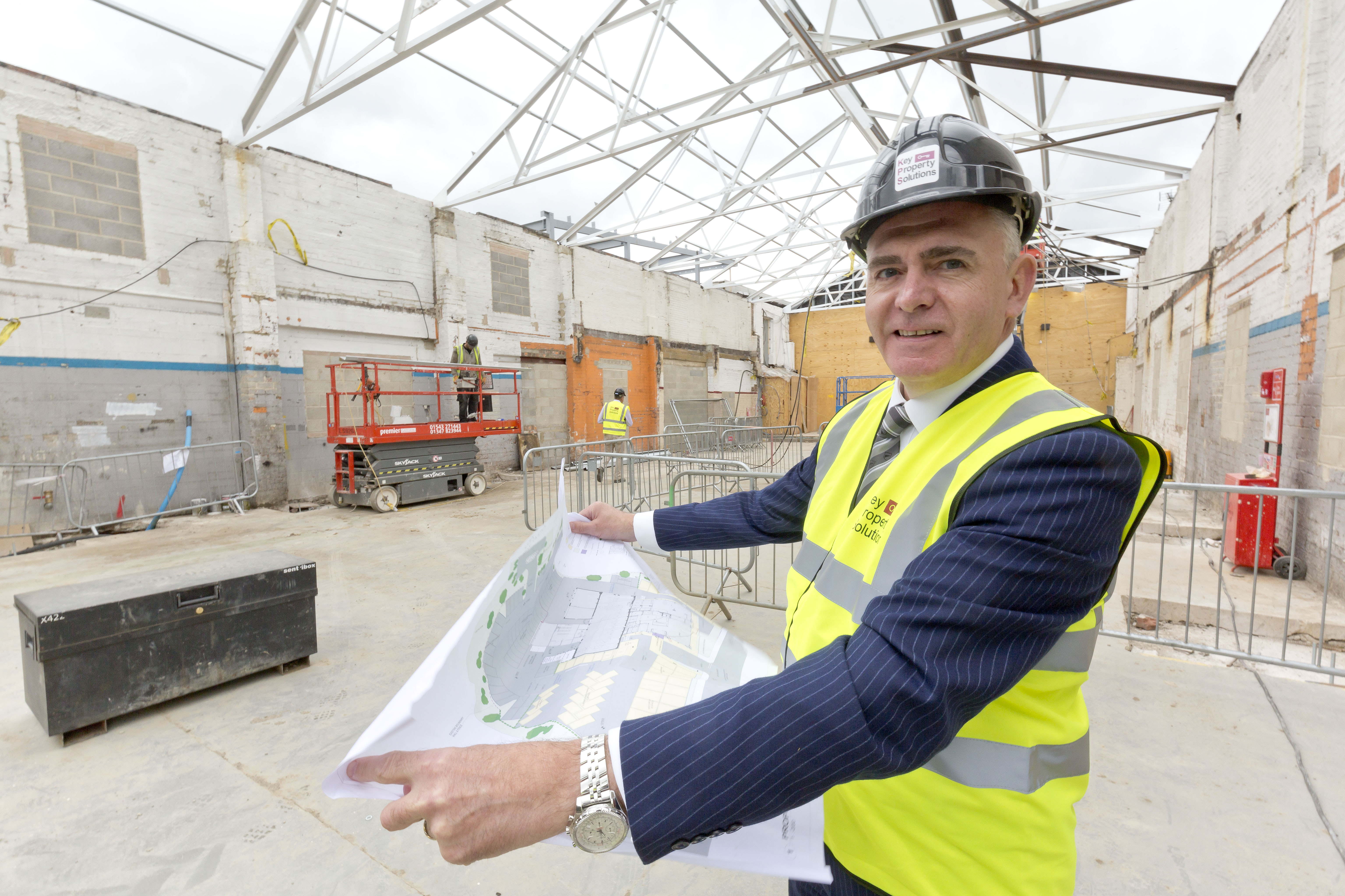 Head of Business appointed at ongoing Guiseley refurbishment