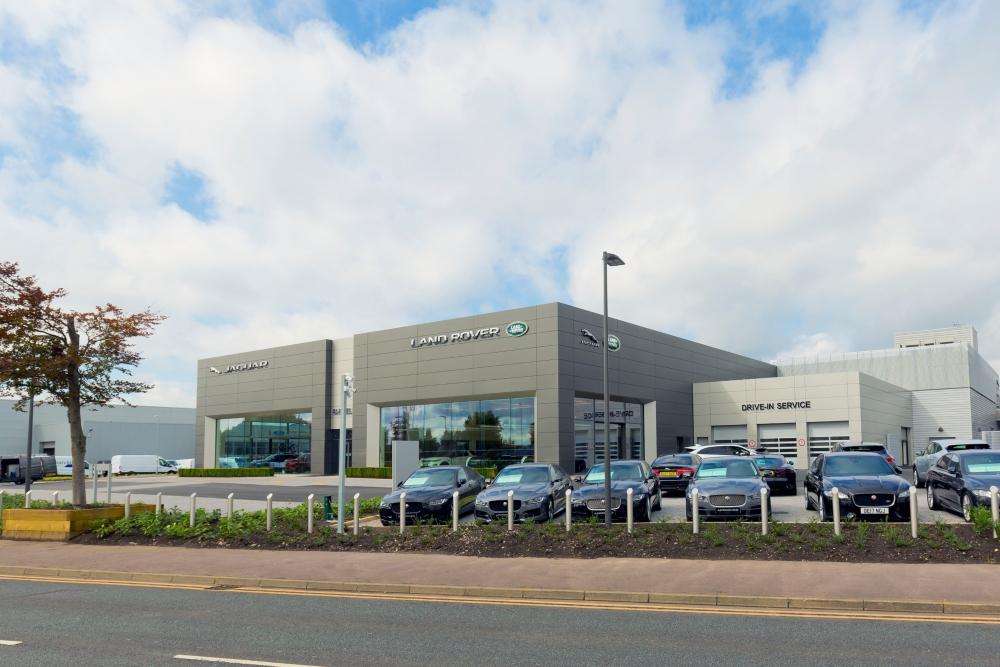 Doors open at £10m Farnell Jaguar Land Rover Bolton retailer