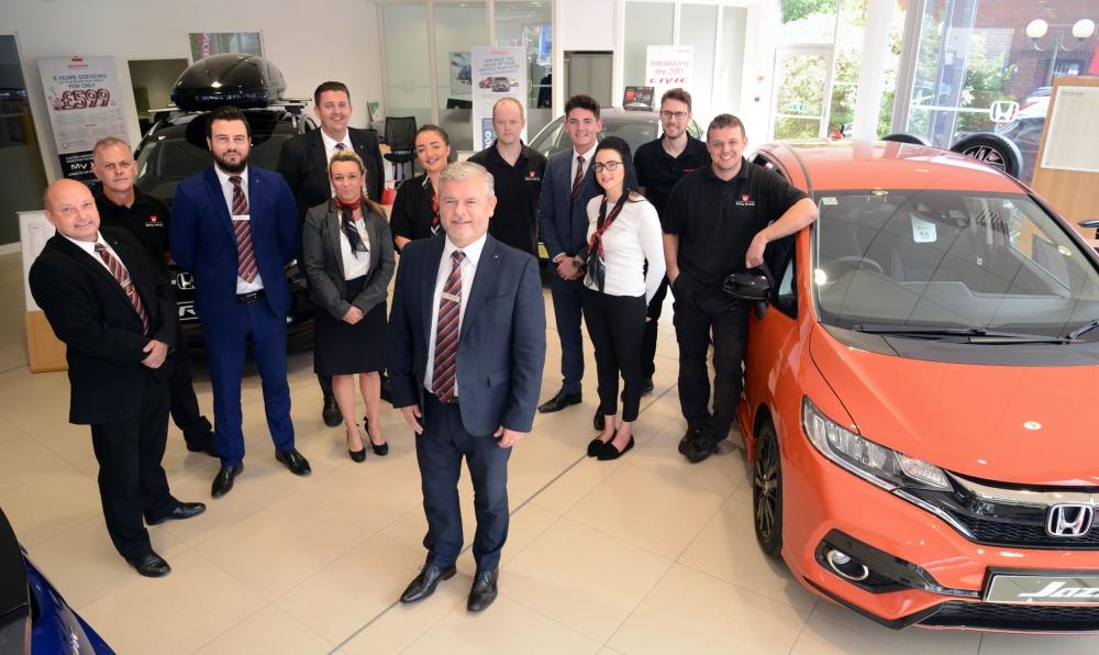 Vertu Durham welcomes new recruits to refurbed dealership