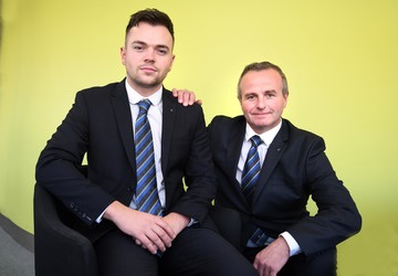 Hereford Volkswagen welcomes its first degree apprentice