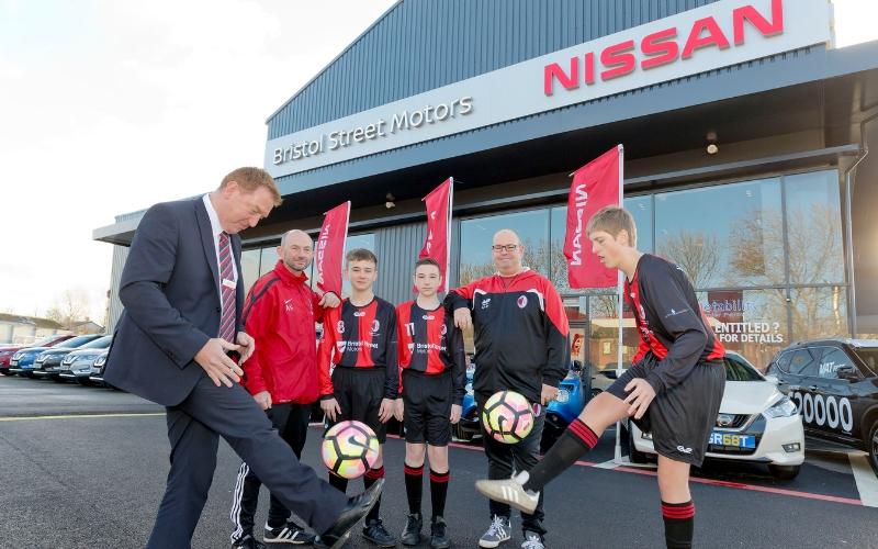 BSM Sheffield Nissan supports local football club