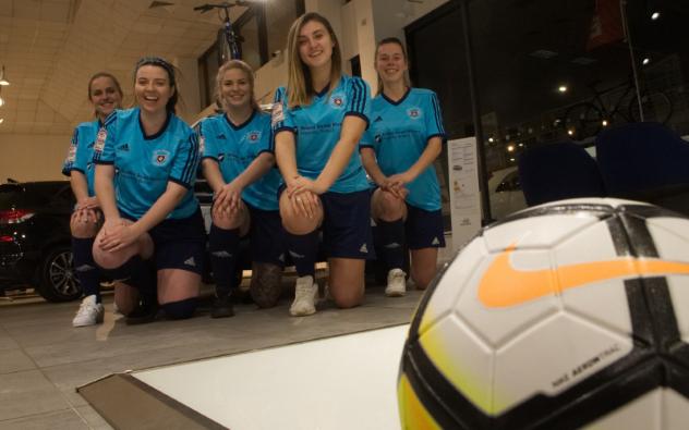BSM Shoots and Scores for Brislington Ladies FC