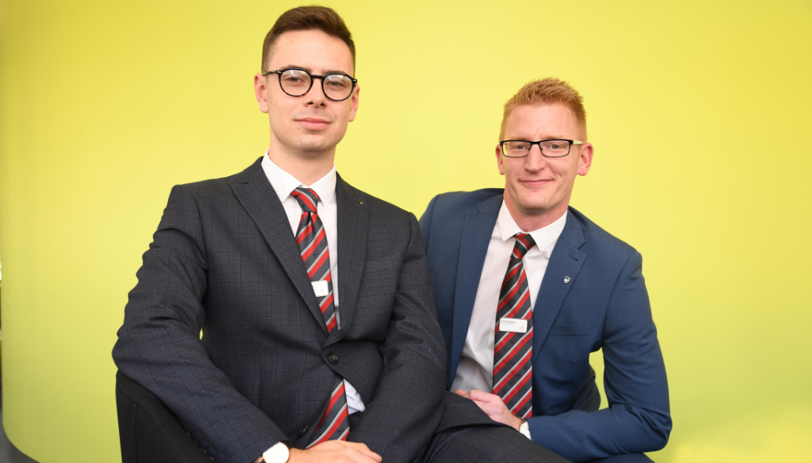 Nottingham Citroen welcomes its first degree apprentice
