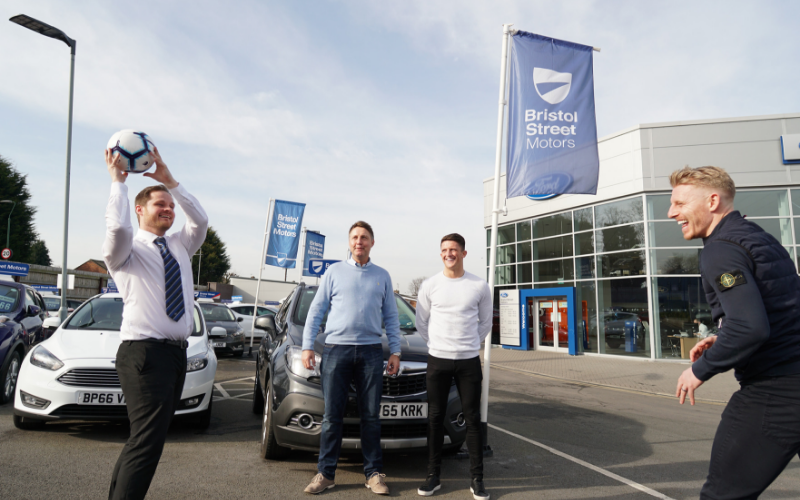 Bristol Street Motors Durham Ford signs deal with Spennymoor Town FC