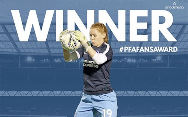 Brighton And Hove Albion Women's Sophie Harris Wins