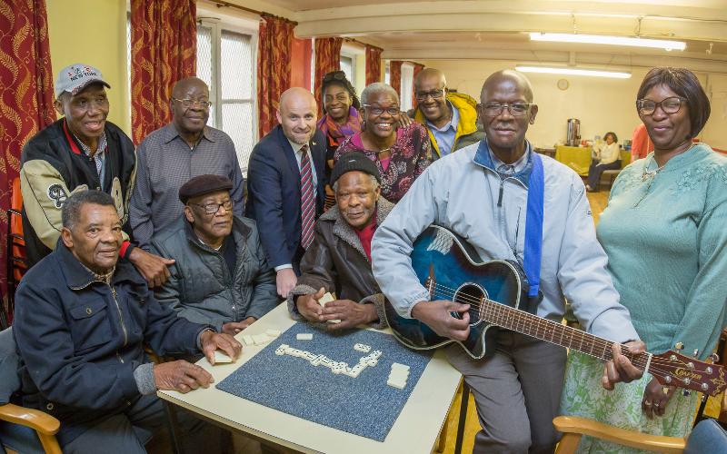 Bristol Street Motors Brings Community Funding Boost For Elderly Activity