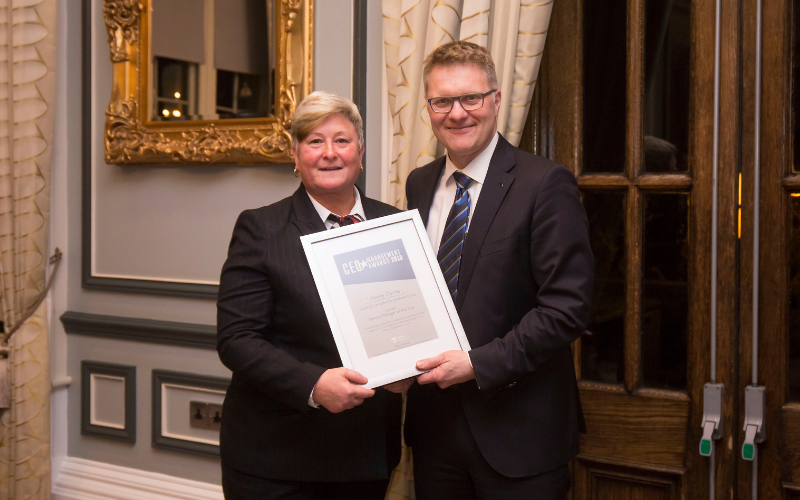Chingford Service Manager Receives Prestigious National Award