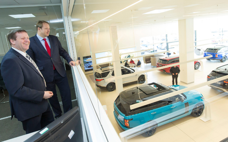 Local MP Praises Chesterfield Car Retailer Investment