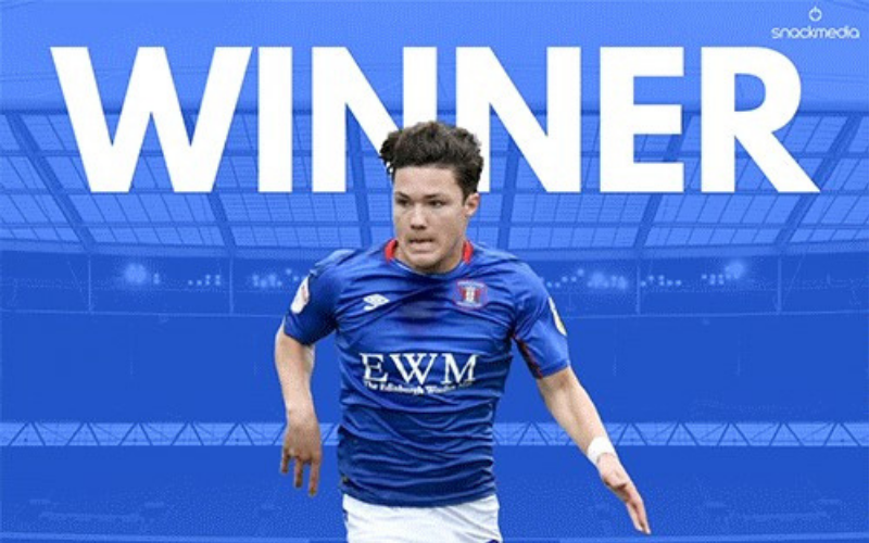 League Two Player of The Month Award For Carlisle United's Callum O'Hare