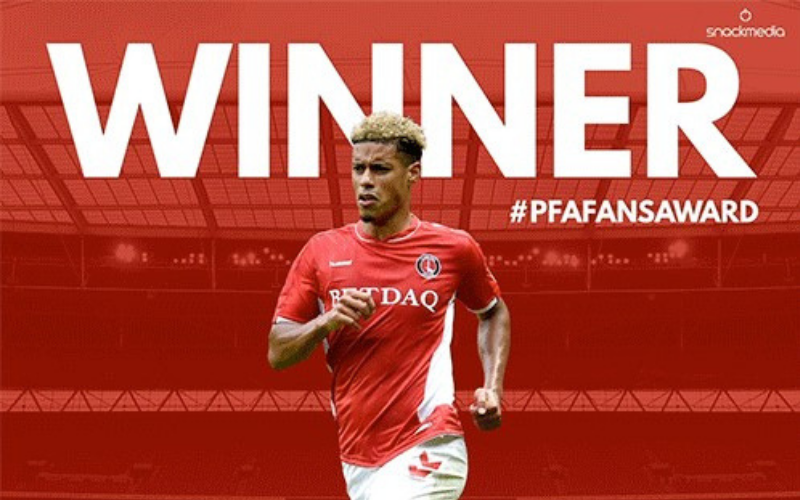 Charlton's Lyle Taylor Wins League One Fans' Player of The Year Award