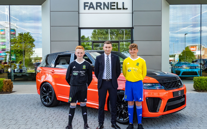 High-Flying CMB Juniors Land New Shirt Sponsors With Farnell Jaguar Land Rover