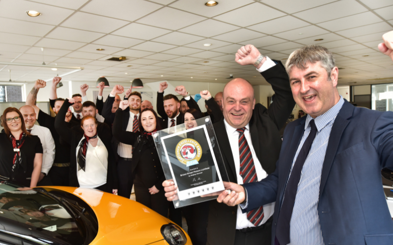 Lichfield Car Dealership Named As One Of The Best In The Country