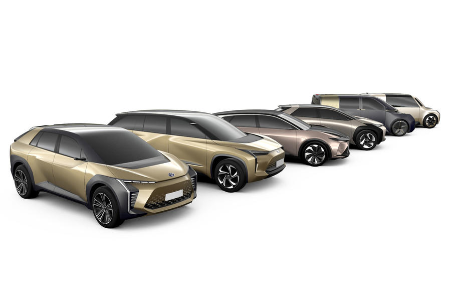 Toyota reveals plans to launch 6 fully Electric Vehicles