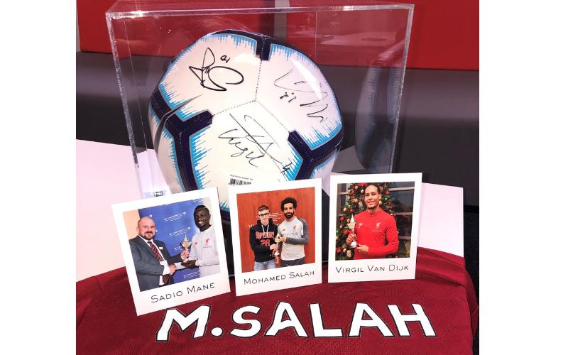 eBay Auction of Football Memorabilia for Brake charity