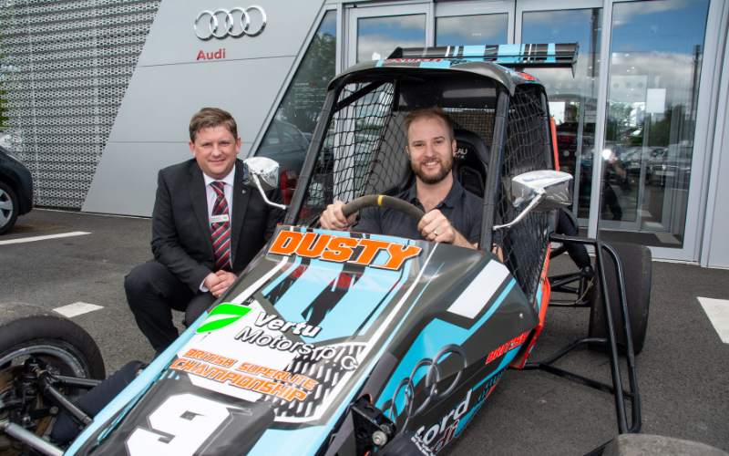 Technician Speeds Away With Sponsorship From Hereford Audi