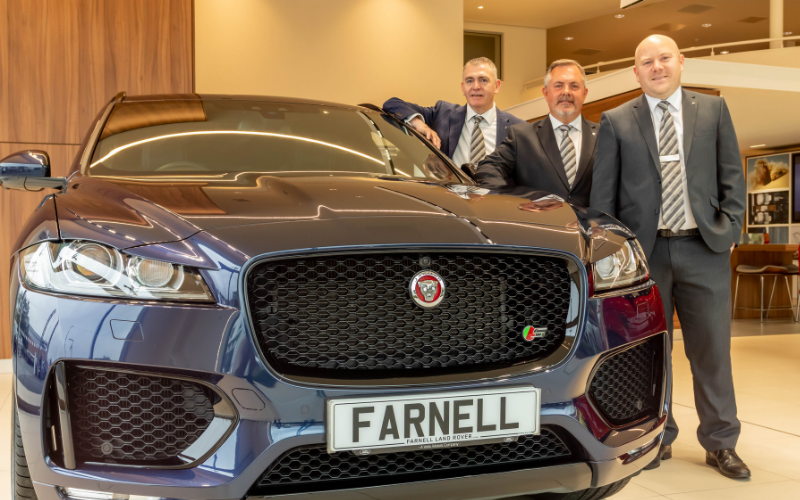 Jaguar To Join Land Rover At Farnell Guiseley