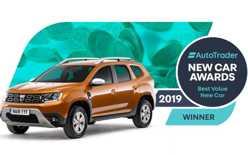The Dacia Duster Wins 'Best Value New Car' Award