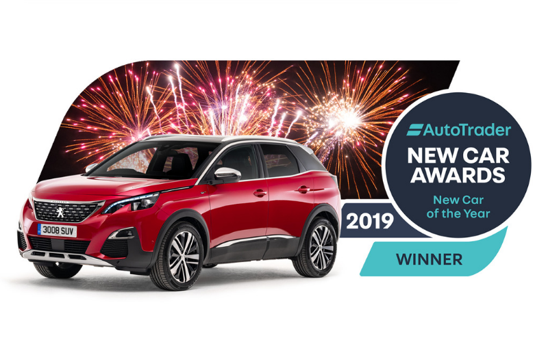 The Peugeot 3008 Wins The 'New Car Of The Year' Award