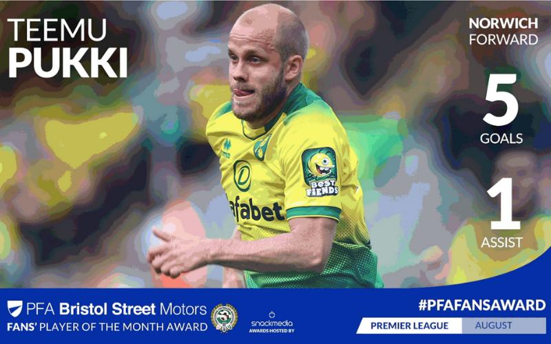 Norwich City's Teemu Pukki Triumphs in Premier League