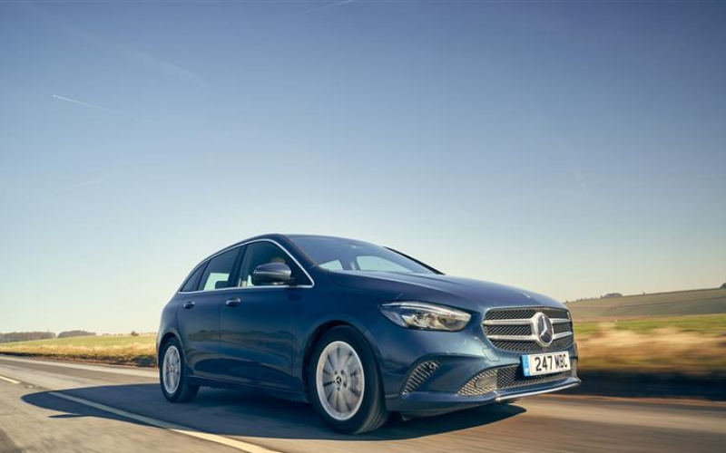 The Mercedes-Benz B-Class Received A Five Star Safety Rating