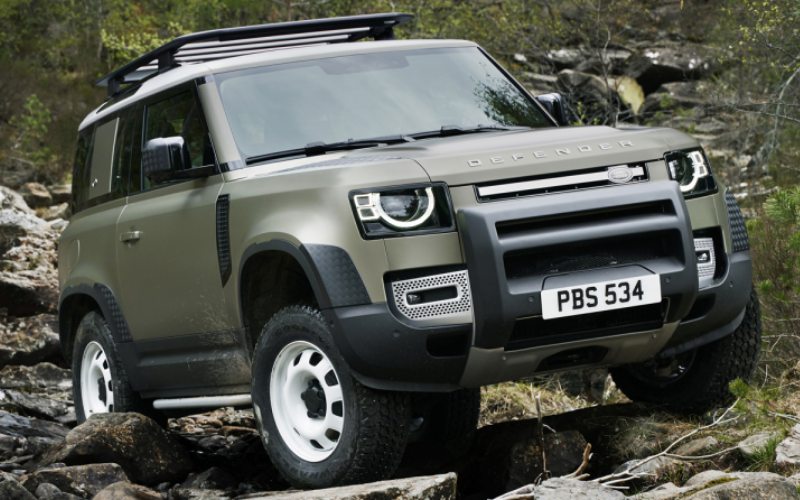 The New Defender Is Unveiled At Frankfurt