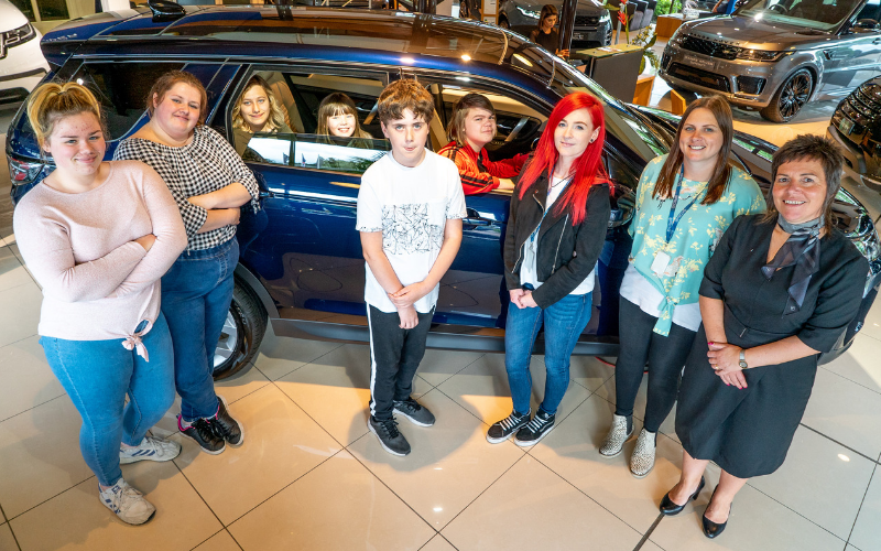 VIDEO: Land Rover Nelson Supports Young Carers