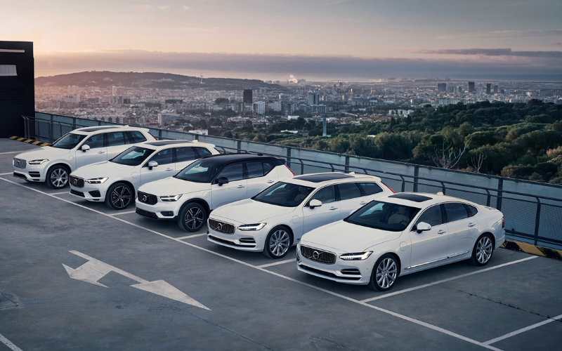 Volvo Go 100% Electric With Plug-In Hybrid Options Across Their Whole Range