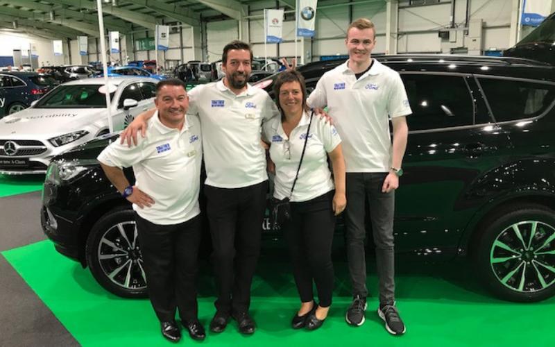 Bristol Street Motors Attend 'One Big Day' Motability Event In Edinburgh
