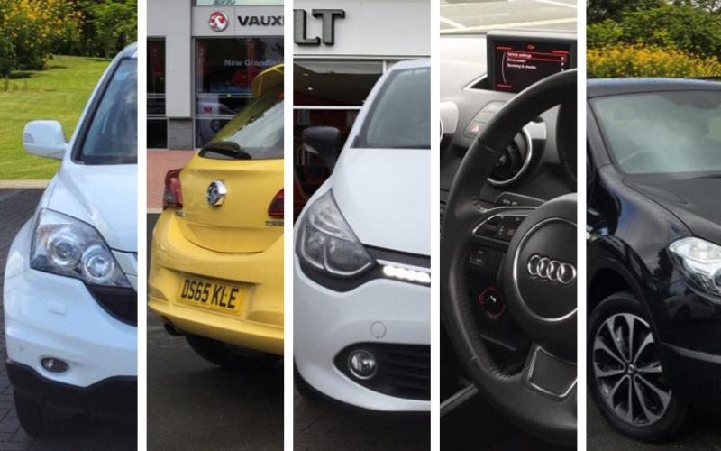 Bristol Street Motors Top 5 Used Cars