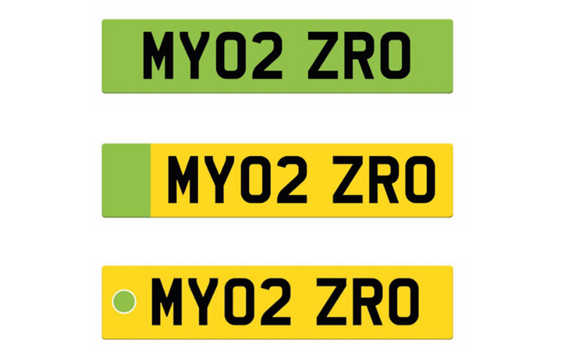 Green Number Plates Could Be Introduced For EVs
