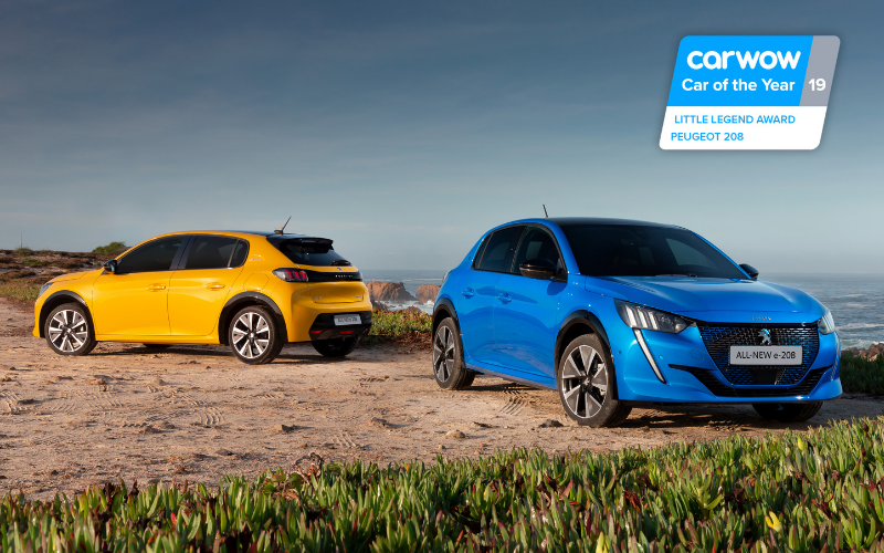 The All-New Peugeot 208 and E-208 Wins 'Little Legend' Award