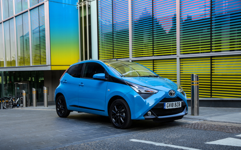 The Five Top Reasons The Toyota Aygo Is The Perfect First Car