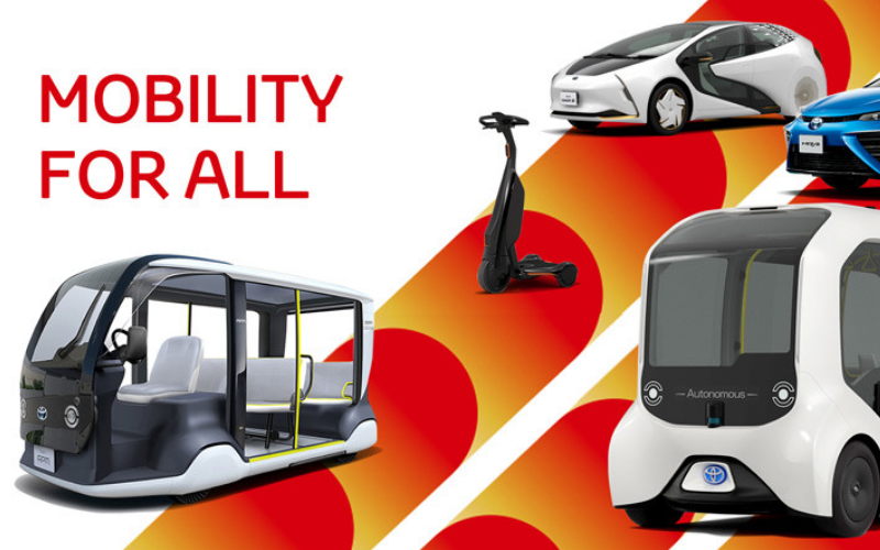 Full EV Line Up To Be Provided By Toyota For The 2020 Olympic Games