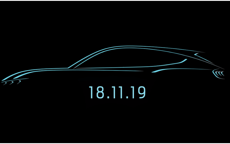 Ford's Mustang-Inspired All-Electric SUV Is Set To Be Revealed This Month