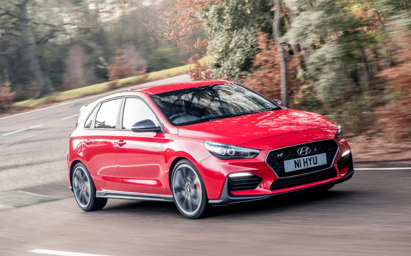The Hyundai i30 N Wins The 'Driver's Choice' Award