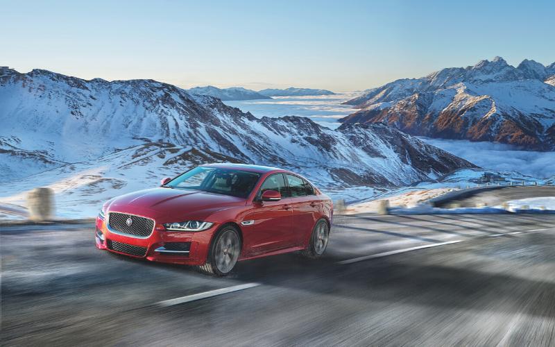 Jaguar Winter Driving Tips