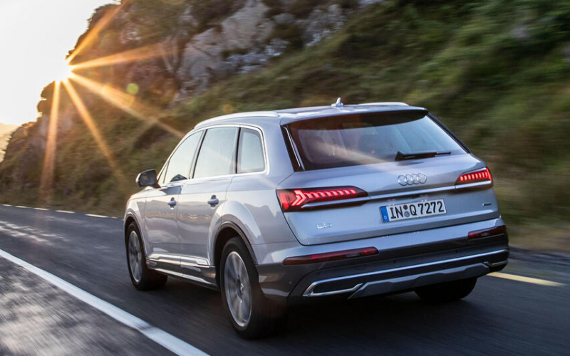 The Audi Q7 Gets Top Marks For Euro NCAP Safety Tests