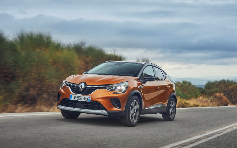 The Renault Captur Receives A Five Star Safety Rating