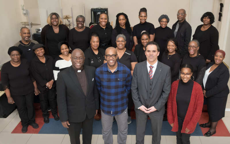 Chingford Vauxhall Brings Funding Boost For Ilford Inter-Generational Choir