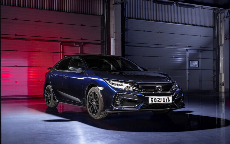New 2020 Honda Civic Sport Line EX Revealed