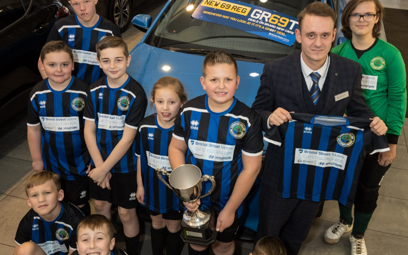 Ability Counts FC Scores With Support From Bristol Street Motors