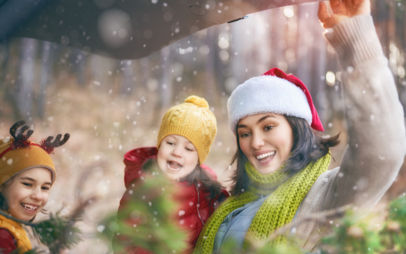 Surviving Christmas Car Journeys With Kids