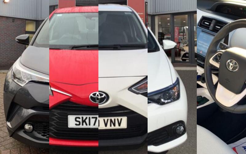 Vertu Toyota's Top 5 Used Cars