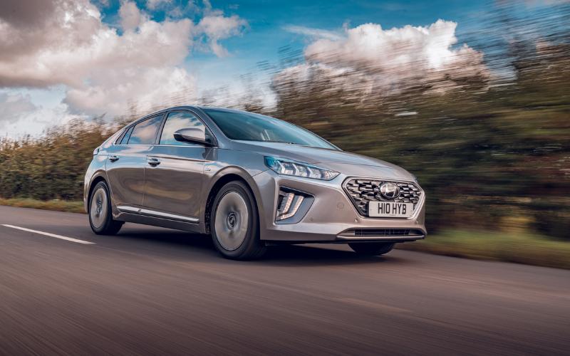 Hyundai IONIQ Is Named Best Hybrid